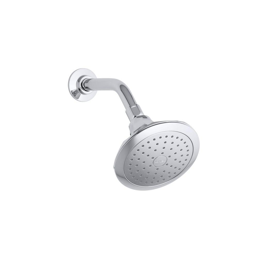 Kohler Memoirs Classic 1 Spray Single Function Showerhead In