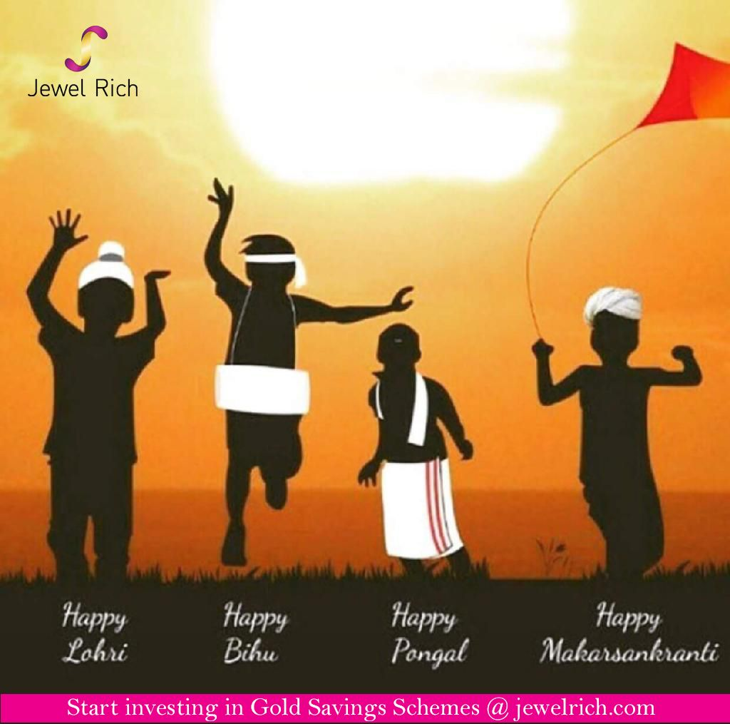 May this #lohri feel your heart with happiness and joy #invest in #goldsavingsschemes at jewelrich.com