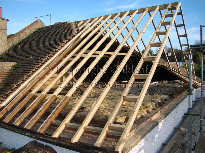 Hip To Gable Roof Conversion Da Garage Roof Gable