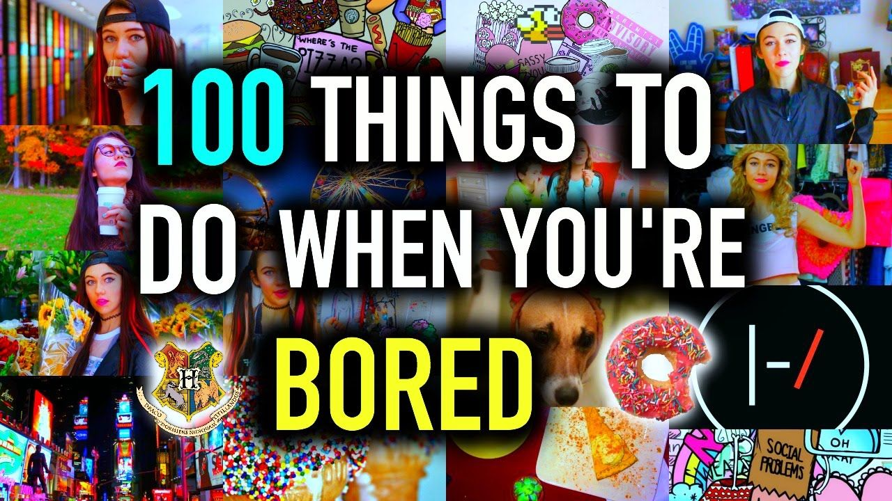 100+ Things to do When You're BORED! DIY Jessiepaege i
