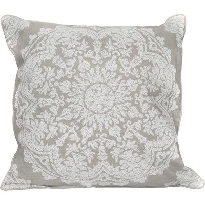 Elements By Erin Gates Medallion Throw Pillow Color Gray Products Beauteous Elements By Erin Gates Decorative Pillow