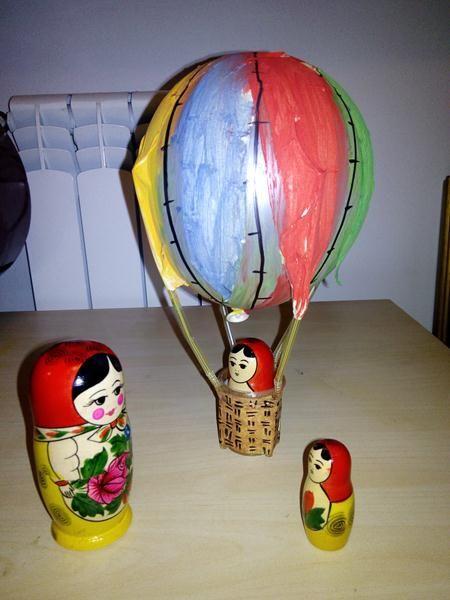 Up in a baloon! czyli balon z balona!