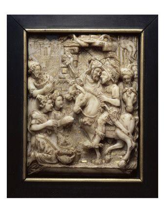 Abigaïl aux pieds de David  - Musée national de la Renaissance (Ecouen)