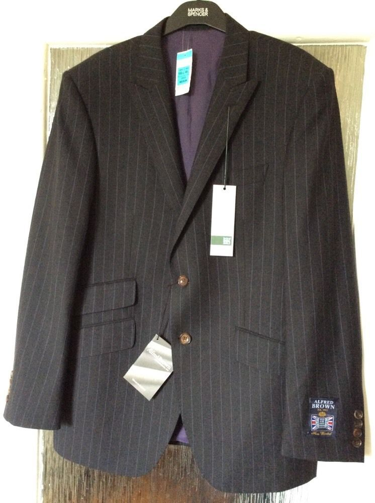 M&S SAVILE ROW by RICHARD JAMES men jacket 100%PURE NEW WOOL UK40 ...