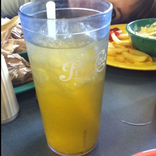 Mountain Dew with Peach Mango! It's a must try