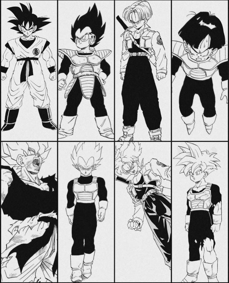 Manga Dbz Dragonballz Dbzmanga Supersaiyan Dbz Manga Dragon