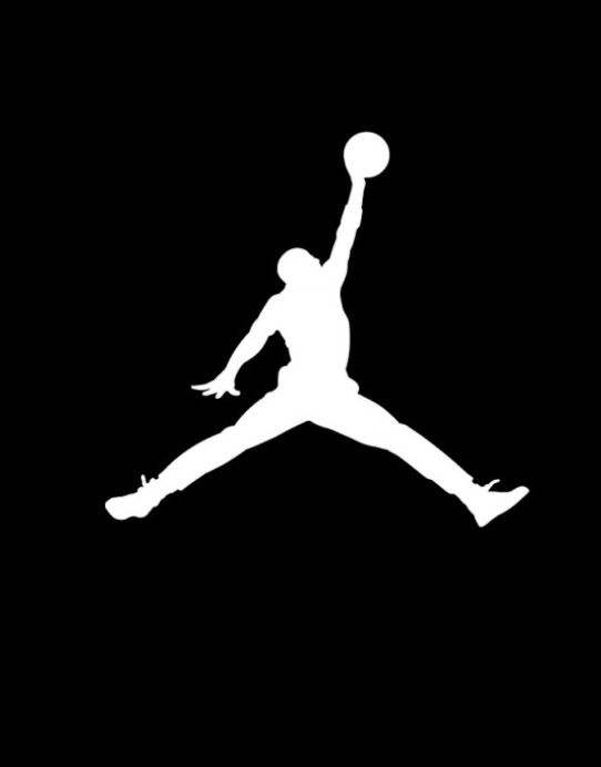 best website 8e069 42bbf Jordan Logo. The logo is very simple and memorable. Logos like this are  very versatile and can be used on almost anything similar to Nike and Under  Armour.