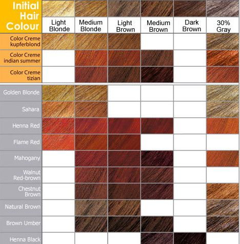 clairol professional color chart: Shades of brown hair i like the mahogany and red shades
