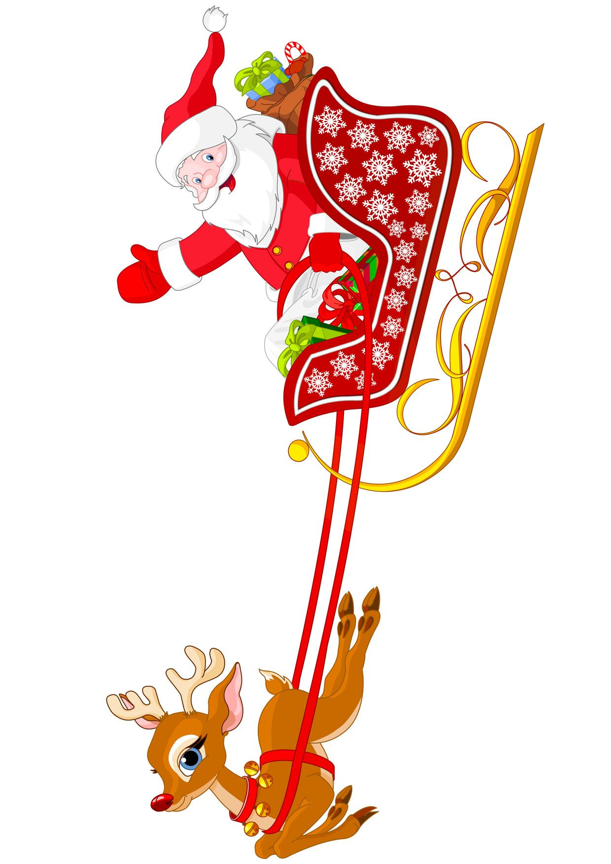Immagini Di Natale Da Stampare Gia Colorate.30 Disegni Di Babbo Natale Gia Colorati Da Stampare Natale