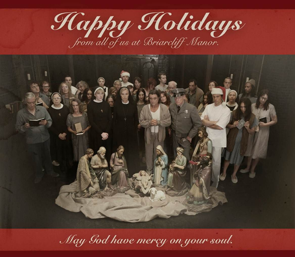 American Horror Story Holiday Card