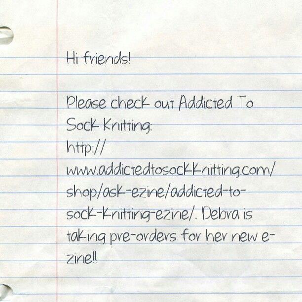 New Addicted to Sock in Knitting e-zine! | KNIT & CROCHET | Pinterest