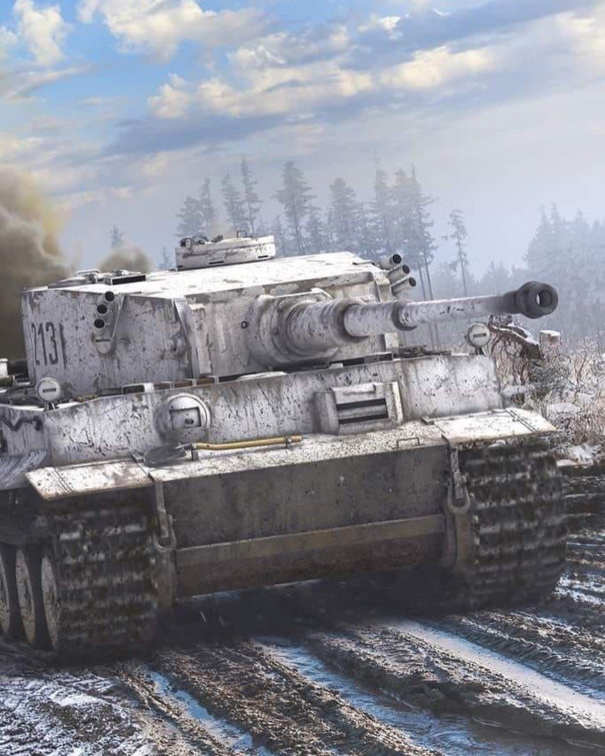 This Is A Picture Of A Tiger 1 This Is Probably The Best Known And Most Famous Of German World War Two Tanks When The Tanks Military War Tank World Of Tanks