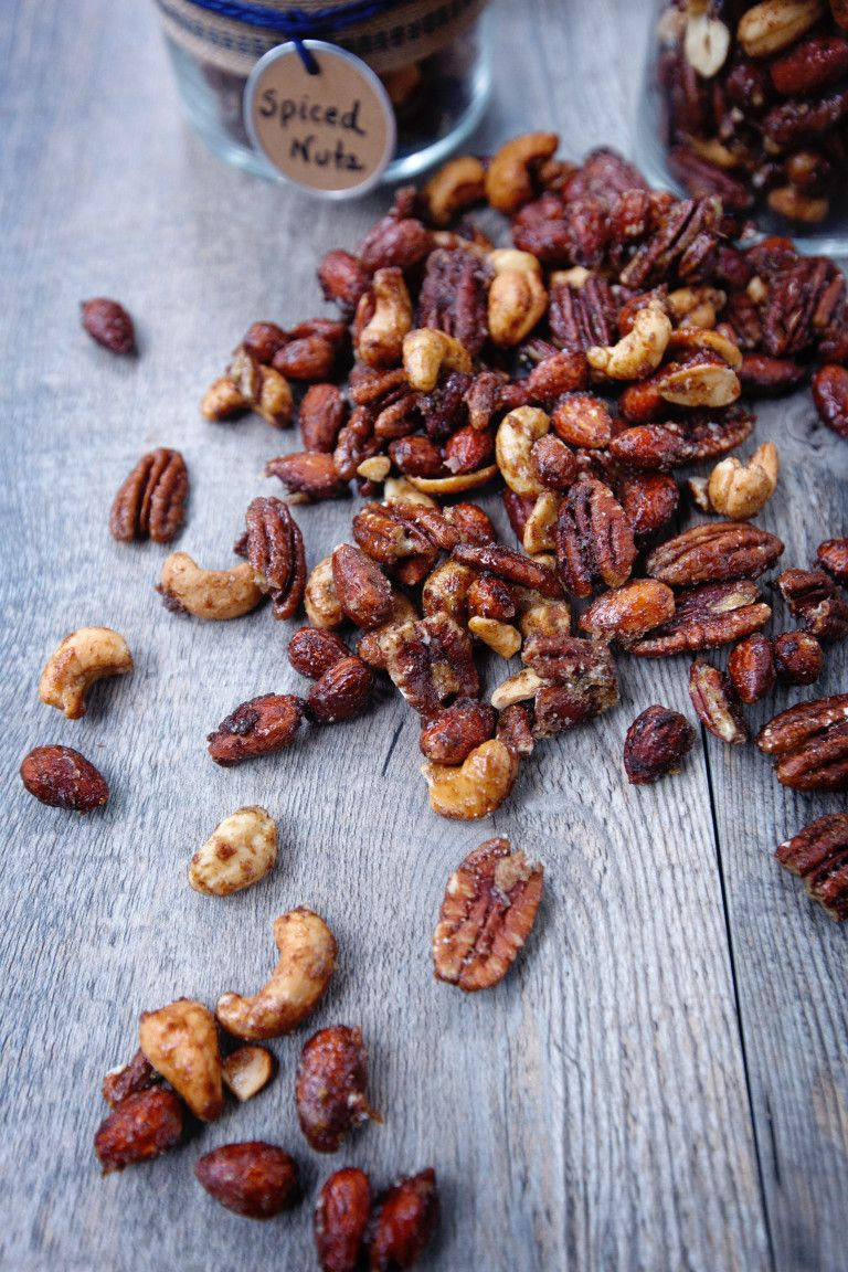 Spiced Nuts Recipe Air fryer recipes, Spiced nuts