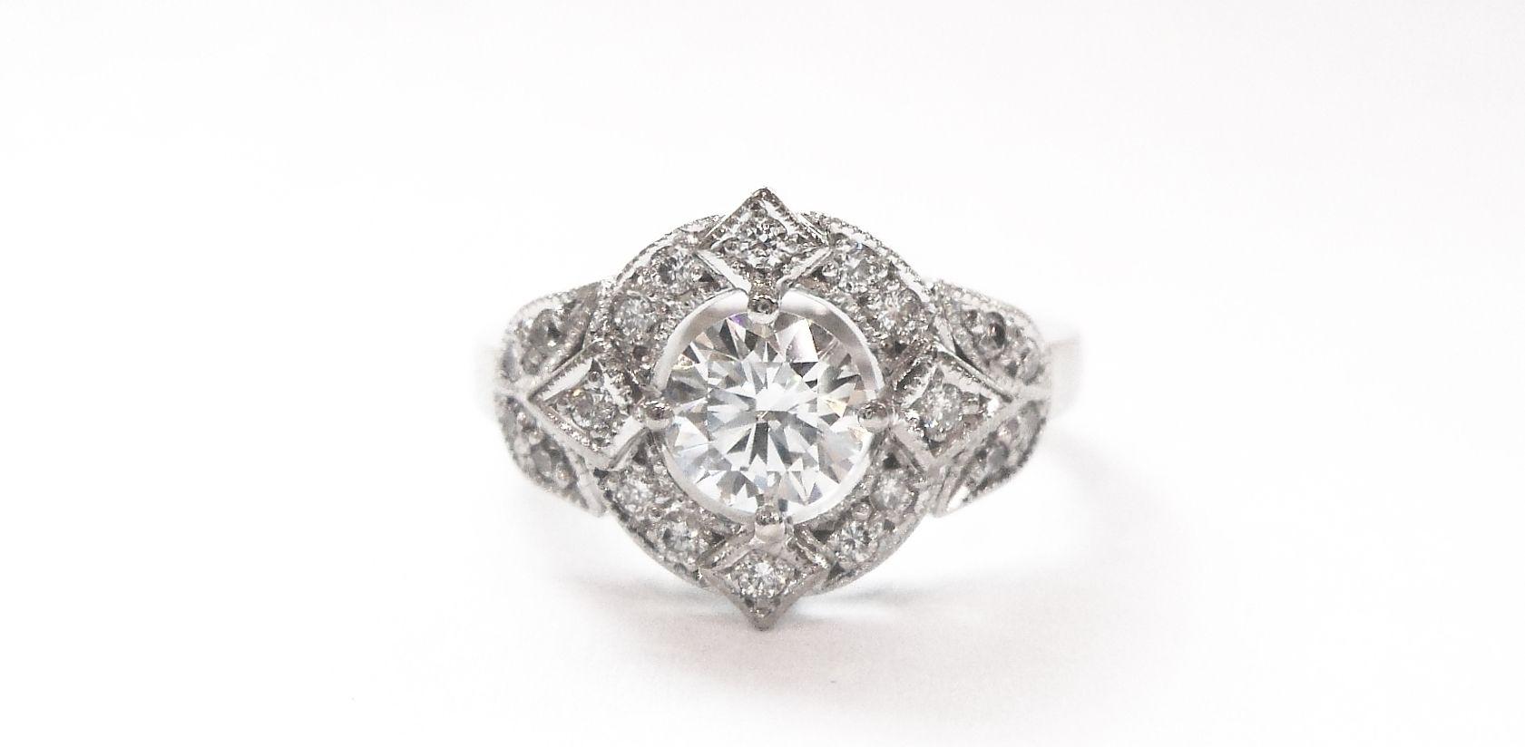 Vintage Diamond Rings Melbourne Ring Pinterest