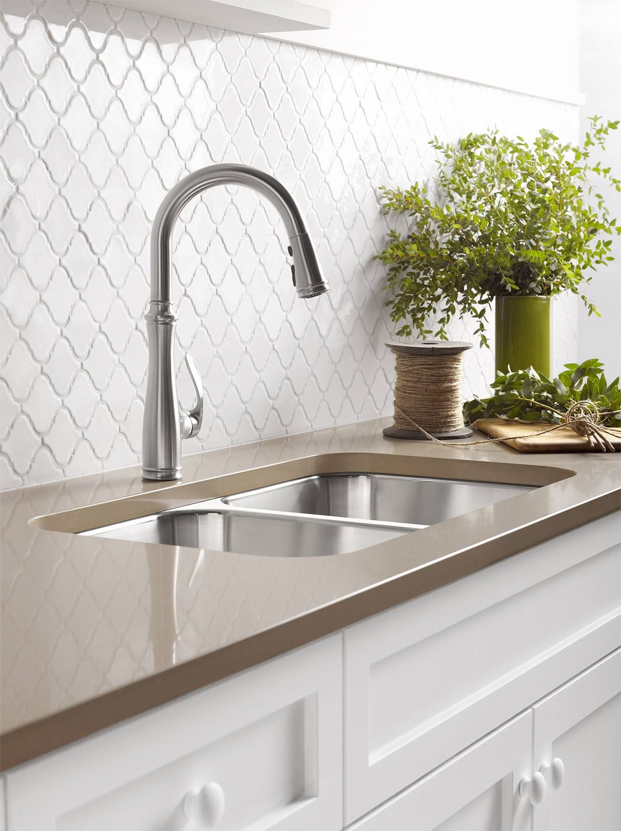 Kohler Bellera Kitchen Faucet Sink Design Corner
