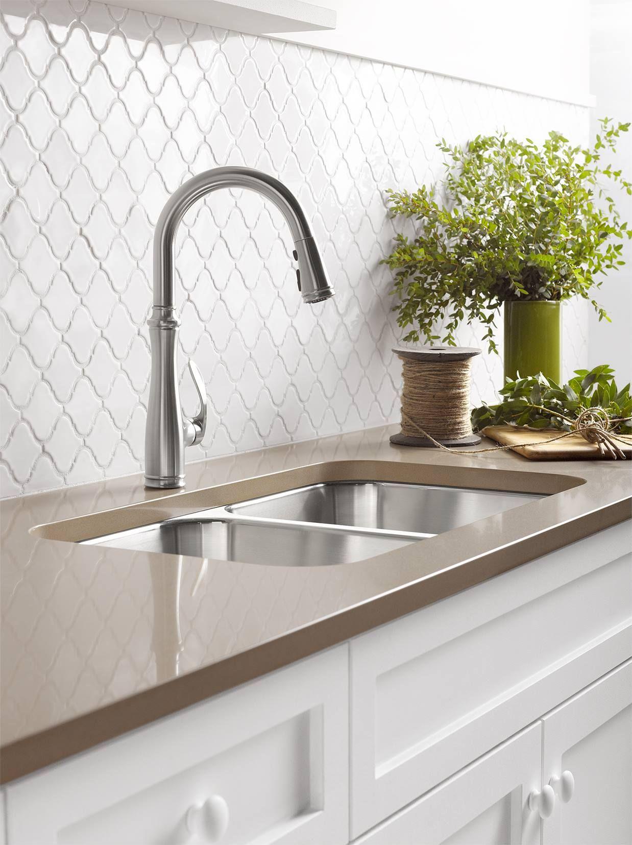 Kohler Bellera Kitchen Faucet Kitchen Sink Design Modern