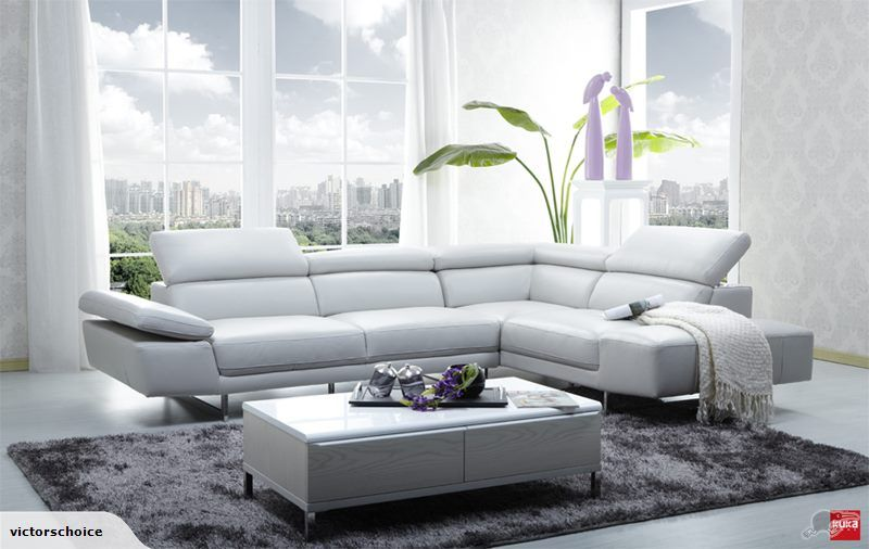 Kuka Chloe Genuine Leather Corner Lounge Suite Trade Me White Leather Sofas Light Grey Leather Couch Modern Sofa Sectional
