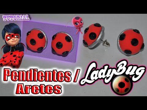 mejores zapatillas de deporte ffcfc b620a ♥ Tutorial: Pendientes/Aretes de Ladybug || Miraculous ...
