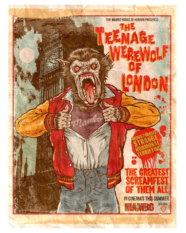 Teenage Werewolf Of London  Werewolves  Mitologa -6215