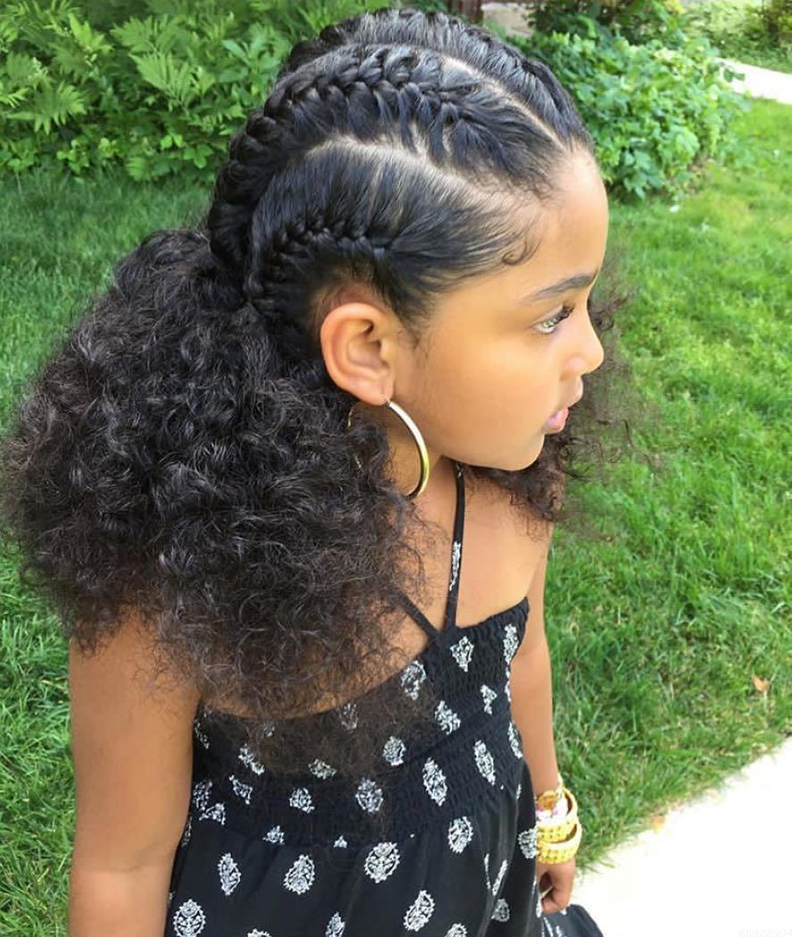 53 Easy Girls Hairstyles for Back to School #girlhairstyles