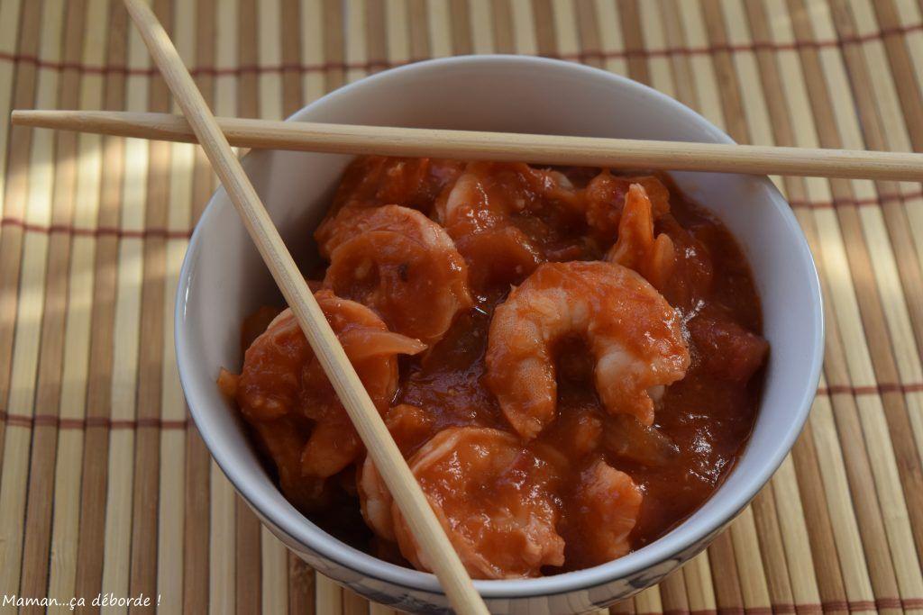 Crevettes sauce piquante | Recettes de cuisine, Recette ...
