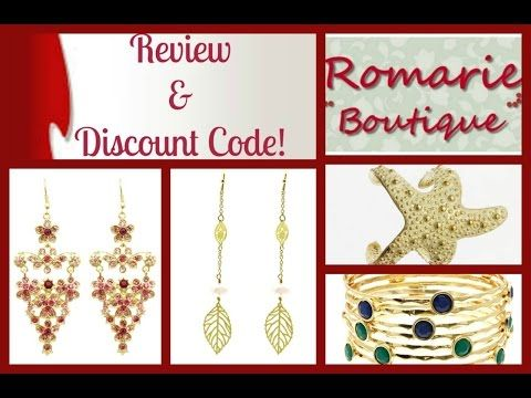 ROMARIE BOUTIQUE JEWELRY REVIEW & DISCOUNT! - YouTube
