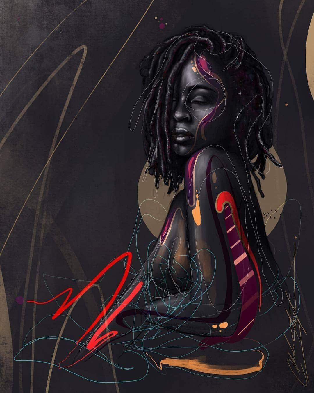 Art by chuckstyless black women art