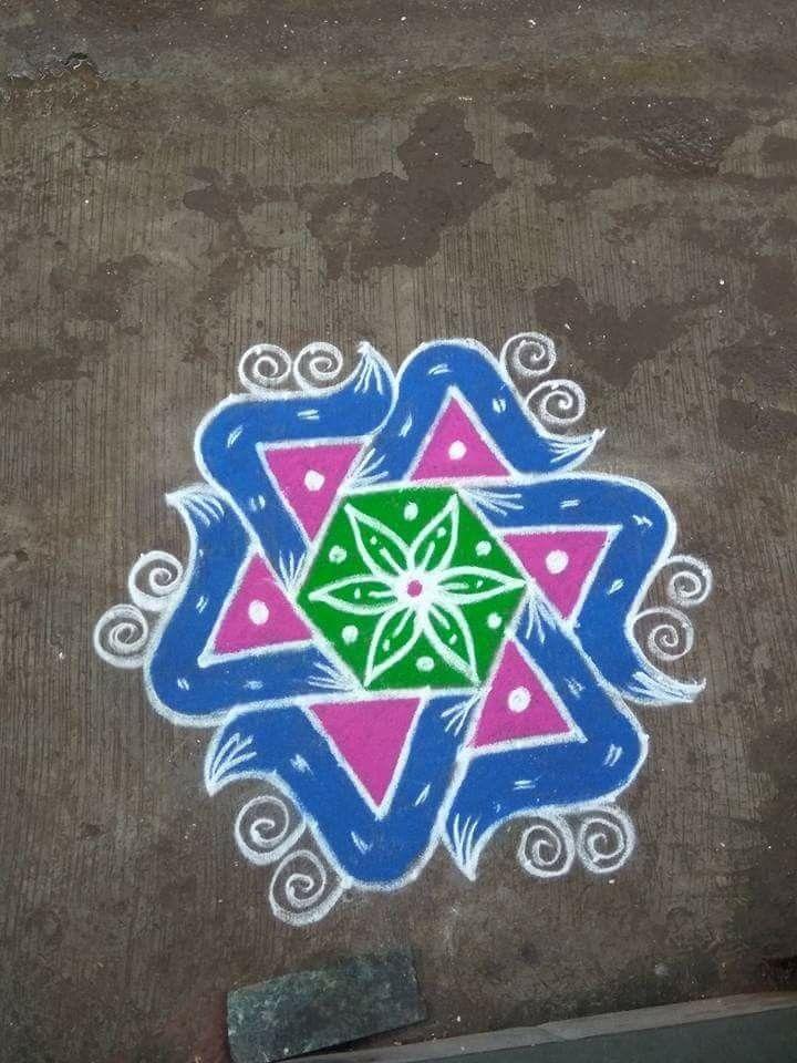 Pin by Smita Gupta on Rangoli Rangoli designs flower
