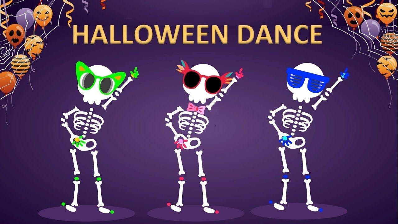 Halloween Skeletons Dance Party Animation Halloween Dance