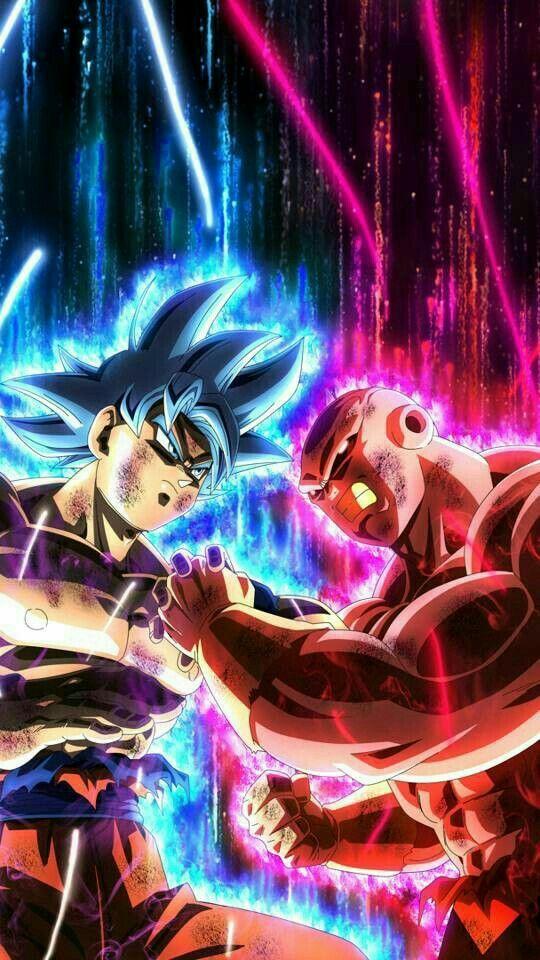 Dragon ball Ż HD wallpaper art for iPhone. Goku fight art ...