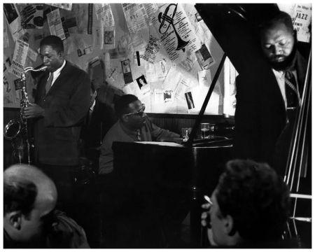 John Coltrane, Shadow Wilson, Thelonious Monk and Ahmed Abdul ...