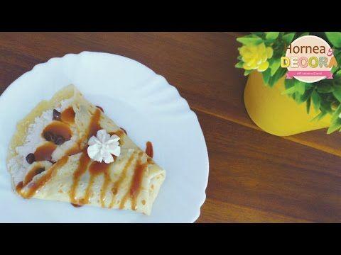 Crepas dulces / Postres - YouTube