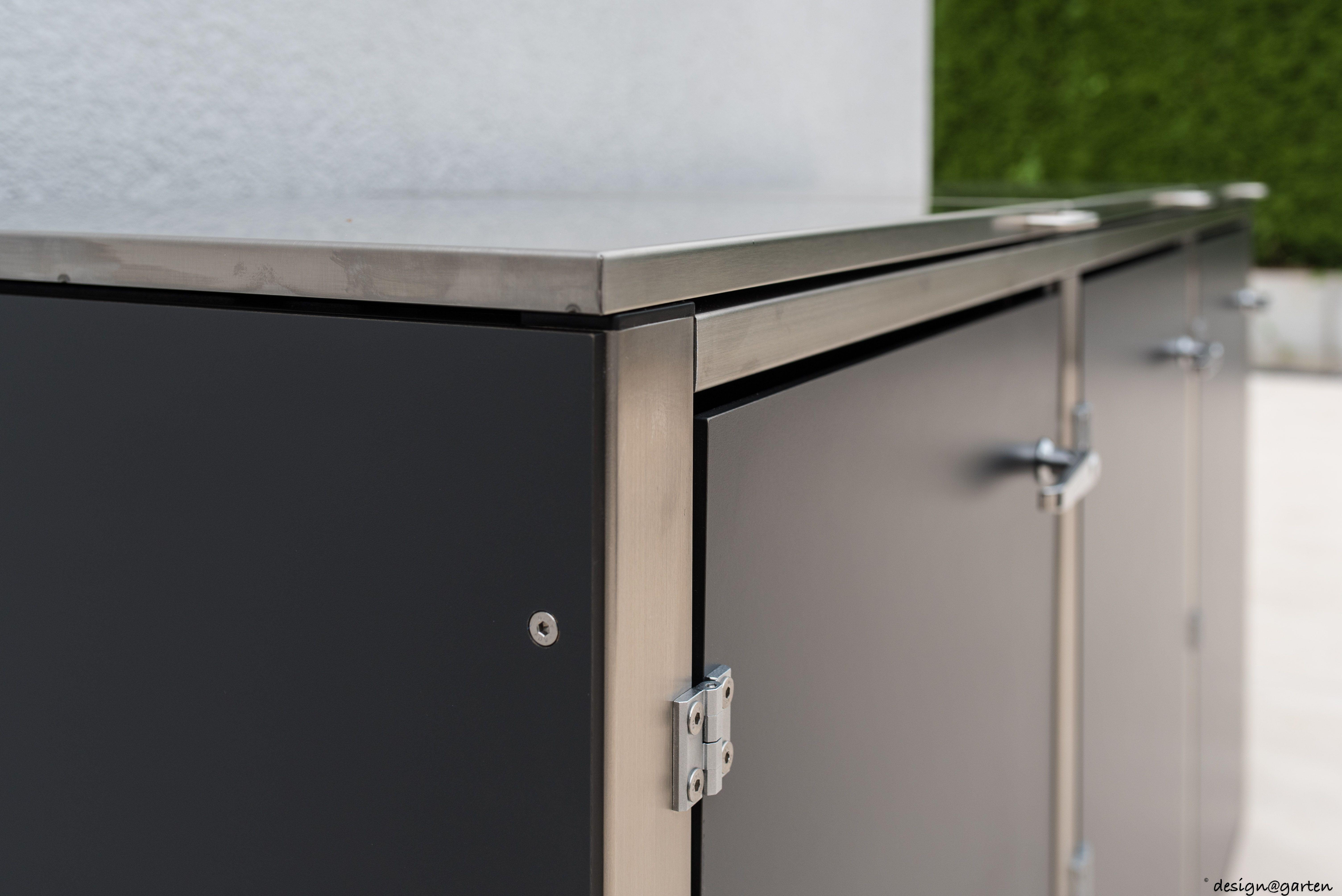 mülltonnenverkleidung (@)boxx by design@garten, augsburg-germany