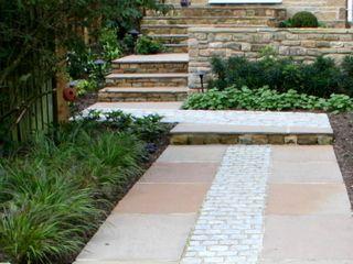 Garden landscaping by Paperbark Garden design a small ...