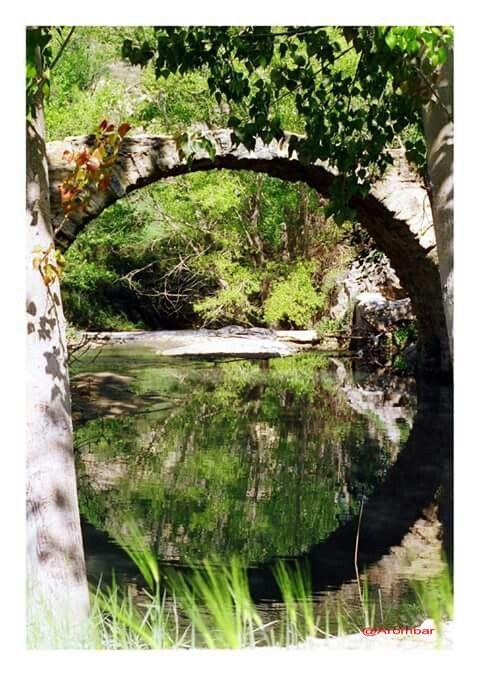 Puente romano, Alhama de Granada. Granada. Spain