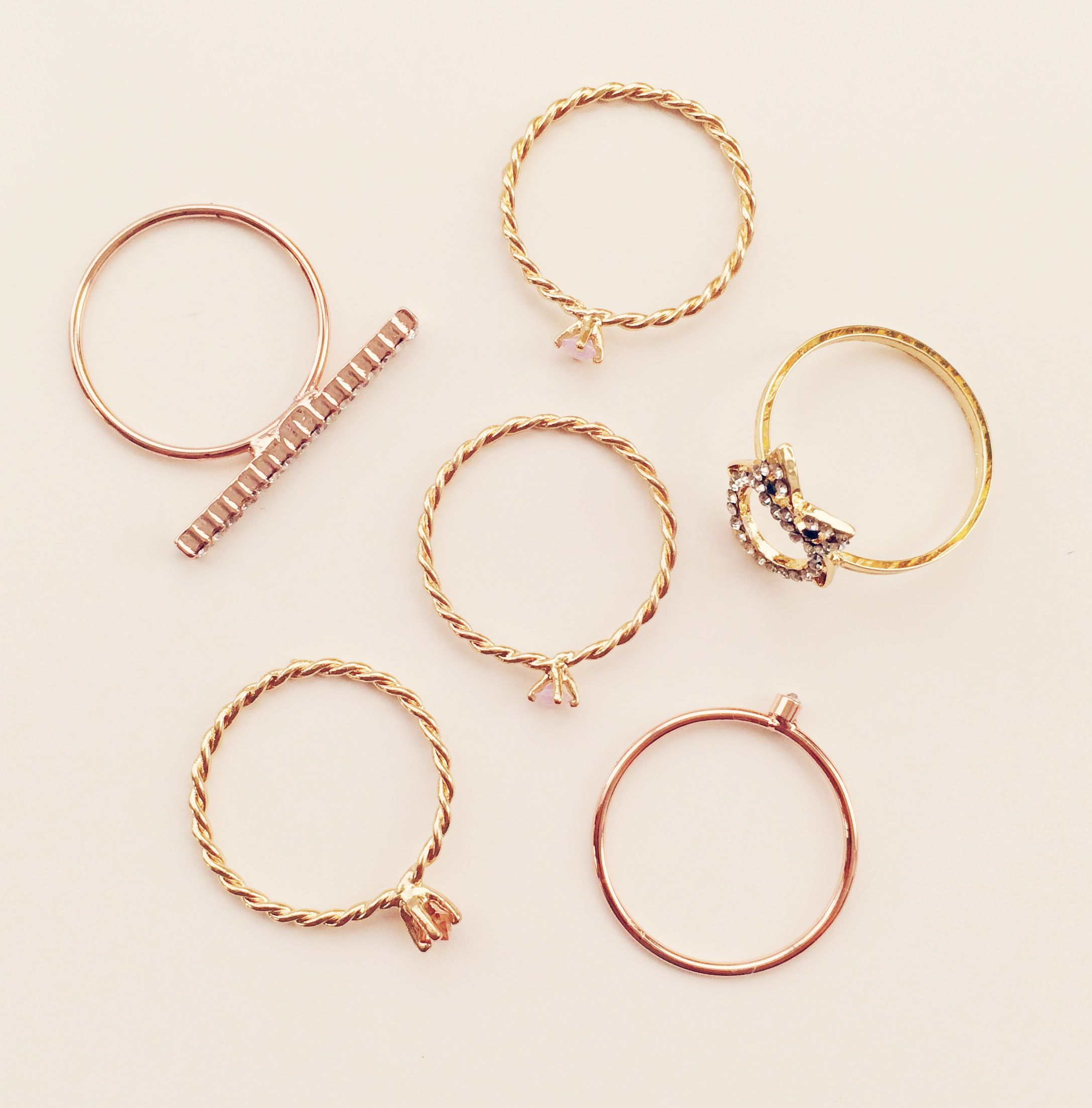 Kohls Jewelry Box Endearing Lc Lauren Conrad For Kohl's Stackable Rings $780  My Style And Design Inspiration
