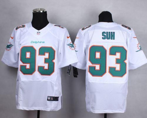 nike dolphins ndamukong suh white mens stitched nfl new elite jersey and troy aikman 8 jersey