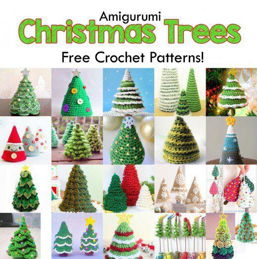 19 Free Amigurumi Christmas Tree Crochet Patterns Tree patterns