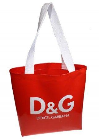 Patent Tote Bag - Femme Promo, private label. #femmepromo #redtotebags #giveawaytotes #promoredtotes