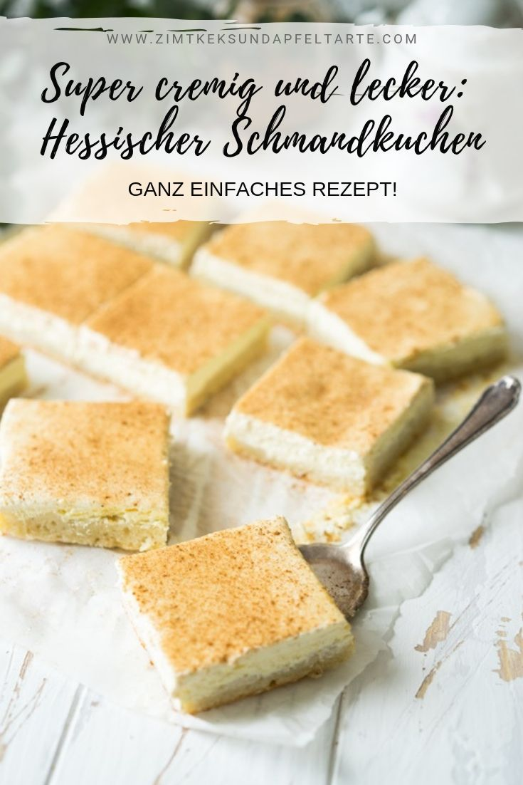Weltbester Schmandkuchen - einfaches und leckeres Rezept aus Hessen