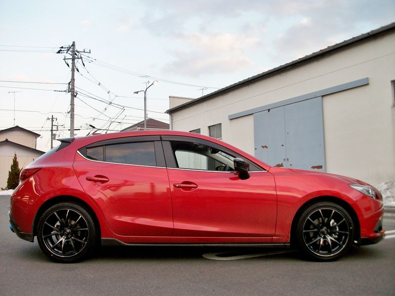 2014 Mazda 3 Appearance (Aero) Package Real Life Photos ...2014 Mazda 3 Hatchback Black