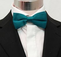 2a46e15ae688 Solid Dark Teal Bow Tie . Pre-Tied (BT10-Z) | Groomsmen and Flower ...