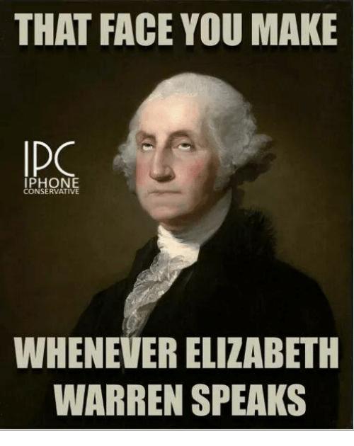 Elizabeth Warren Meme