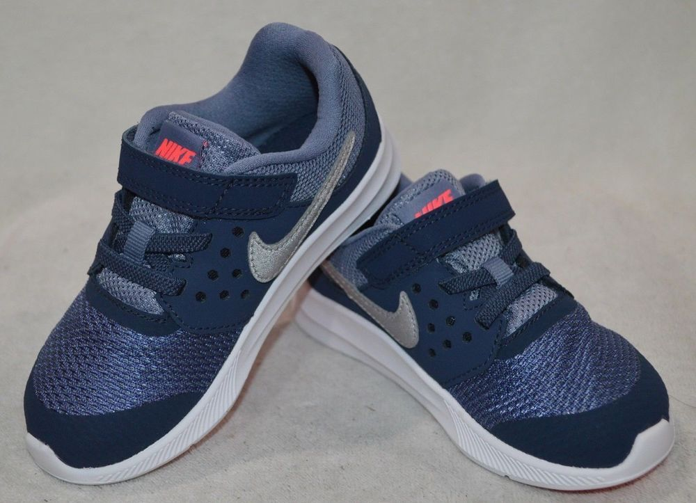 d95043de75 Nike Downshifter 7 (TDV) Thunder Blue/Silv Toddler Girl's Shoes-Sz 5/6/7/8/9/10  #fashion #clothing #shoes #accessories #babytoddlerclothing #babyshoes  (ebay ...