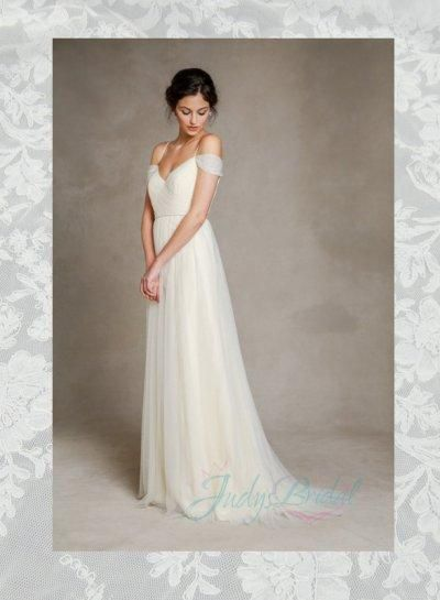 Soft Tulle Wedding Dresses