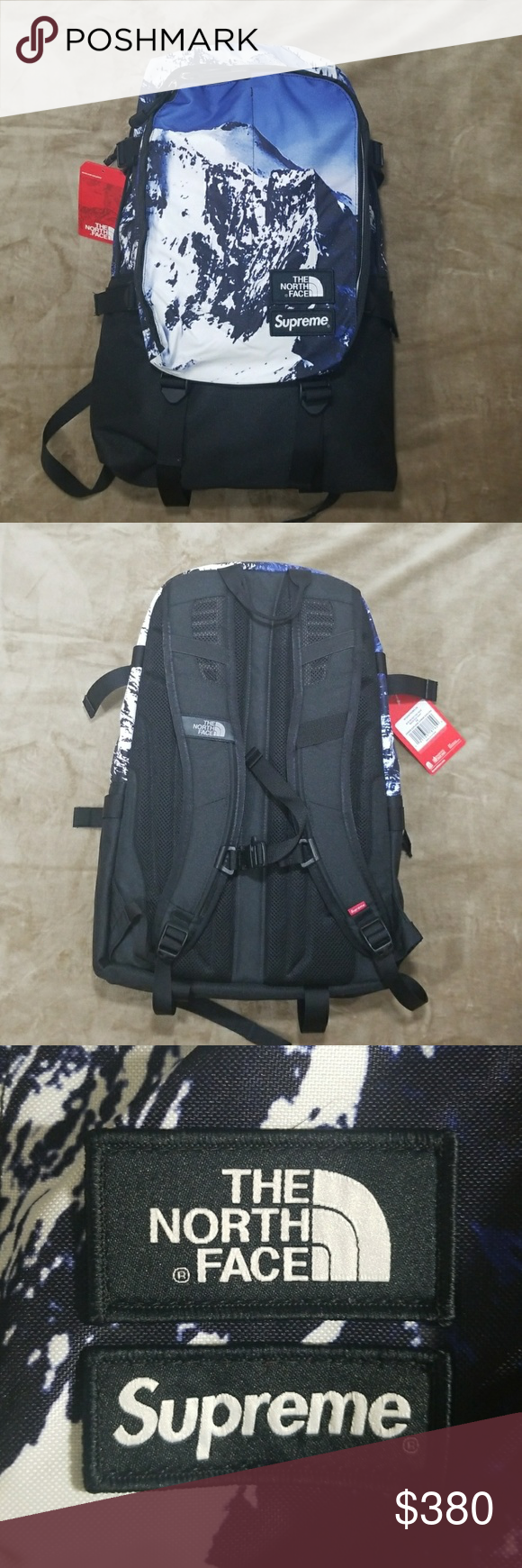 0a5c8e32e4 SUPREME The North Face Mountain Expedition B-pack Brand New Supreme Backpack;  100% Authentic w/receipt Supreme Bags Backpacks