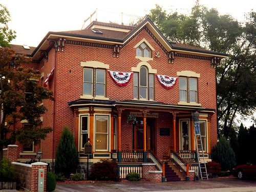 The Residence Of George H Elva Shearer C 1876 Center Avenue Historical District Bay City Michigan In 2019 Bay City Michigan Bay City Michigan Travel