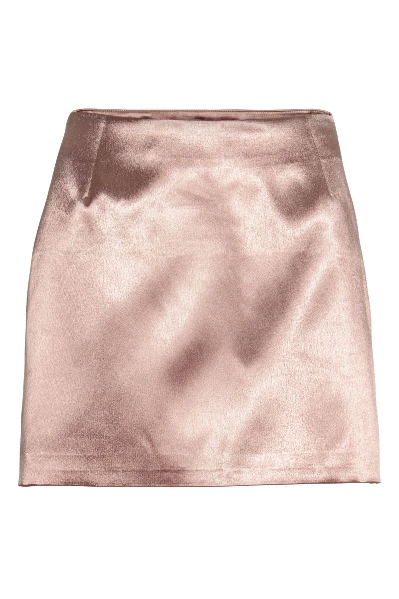 H&m pink pleated dress  Short satin skirt  Powder pink  LADIES  HuM AU  HuM  Pinterest