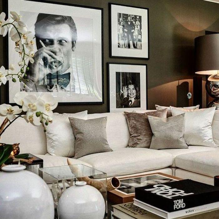 ▷ 1001+ Ideen für Fotowand - interessante Wandgestaltung Come On - wohnzimmer design schwarz