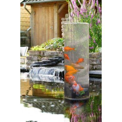 Fishtower 50 Tour A Poisson Ubbink Pour Observer Les Poissons Du Bassin De Jardin Bassin De Jardin Bassin A Poisson Jardin D Eau